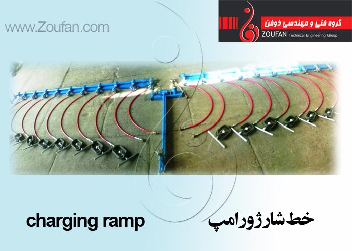 خط شارژ و رامپ/charging ramp