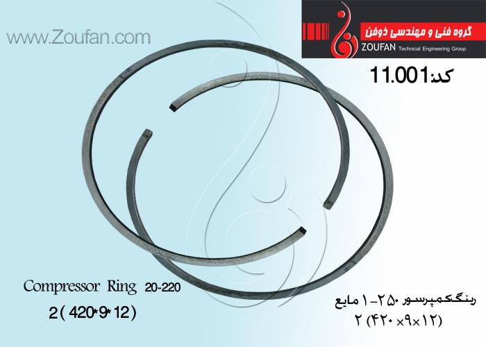 رینگ کمپرسور250-1 مایع