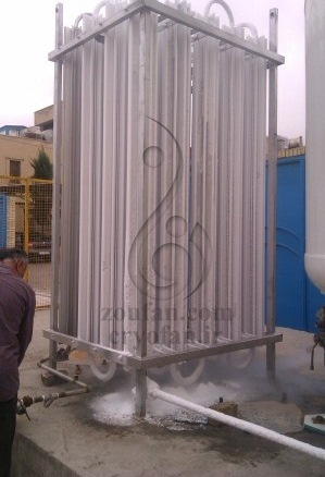 پروژه واپرایزر و تانکر فولاد اصفهان